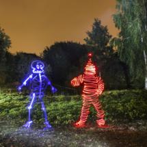 Light Man Vs Skeletor